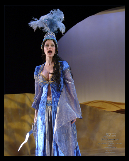 """The Water Queen in """"The Dreamer's Quest"""" (Western Canada Theatre)  *Photo by Barbara Zimonick"""