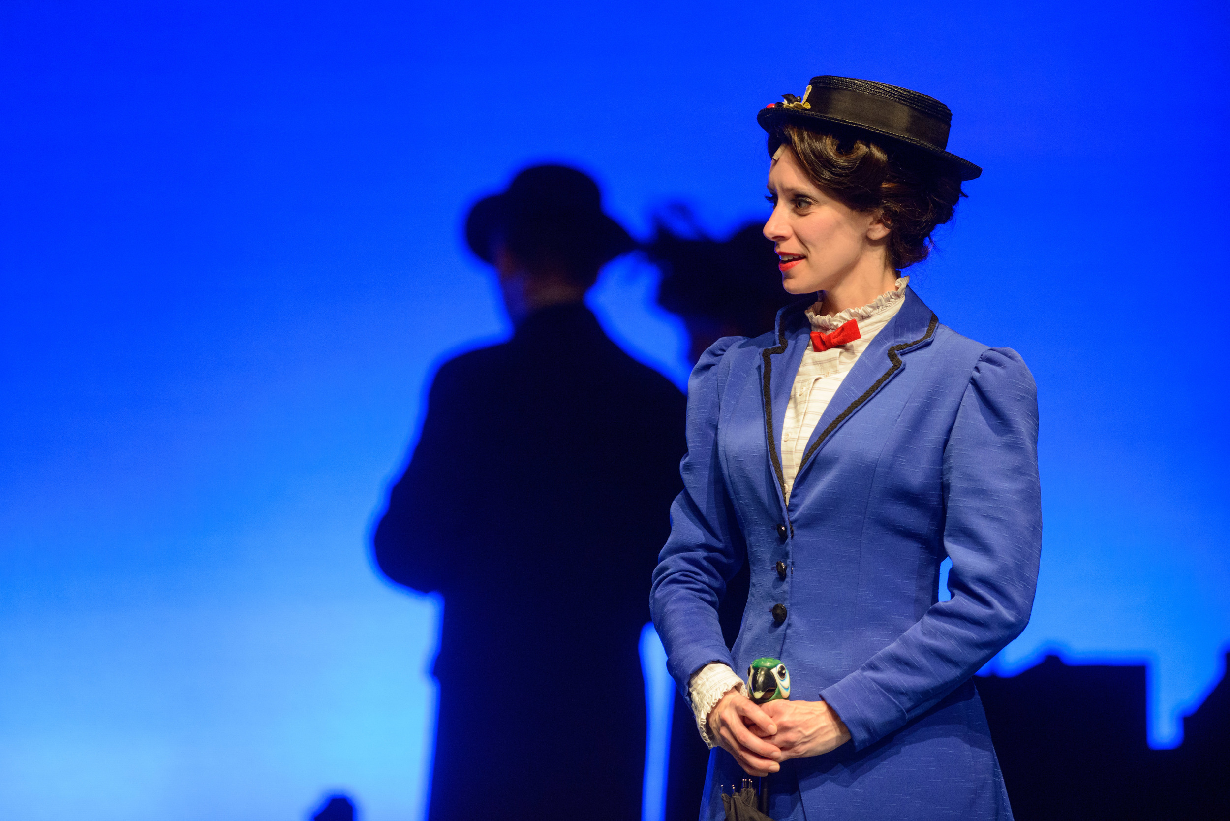 """Mary Poppins in """"Mary Poppins"""" (Western Canada Theatre & Persephone Theatre)  *Photo by Stephen Rutherford"""