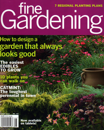 Contributing Writer August 2013 Fine Gardening