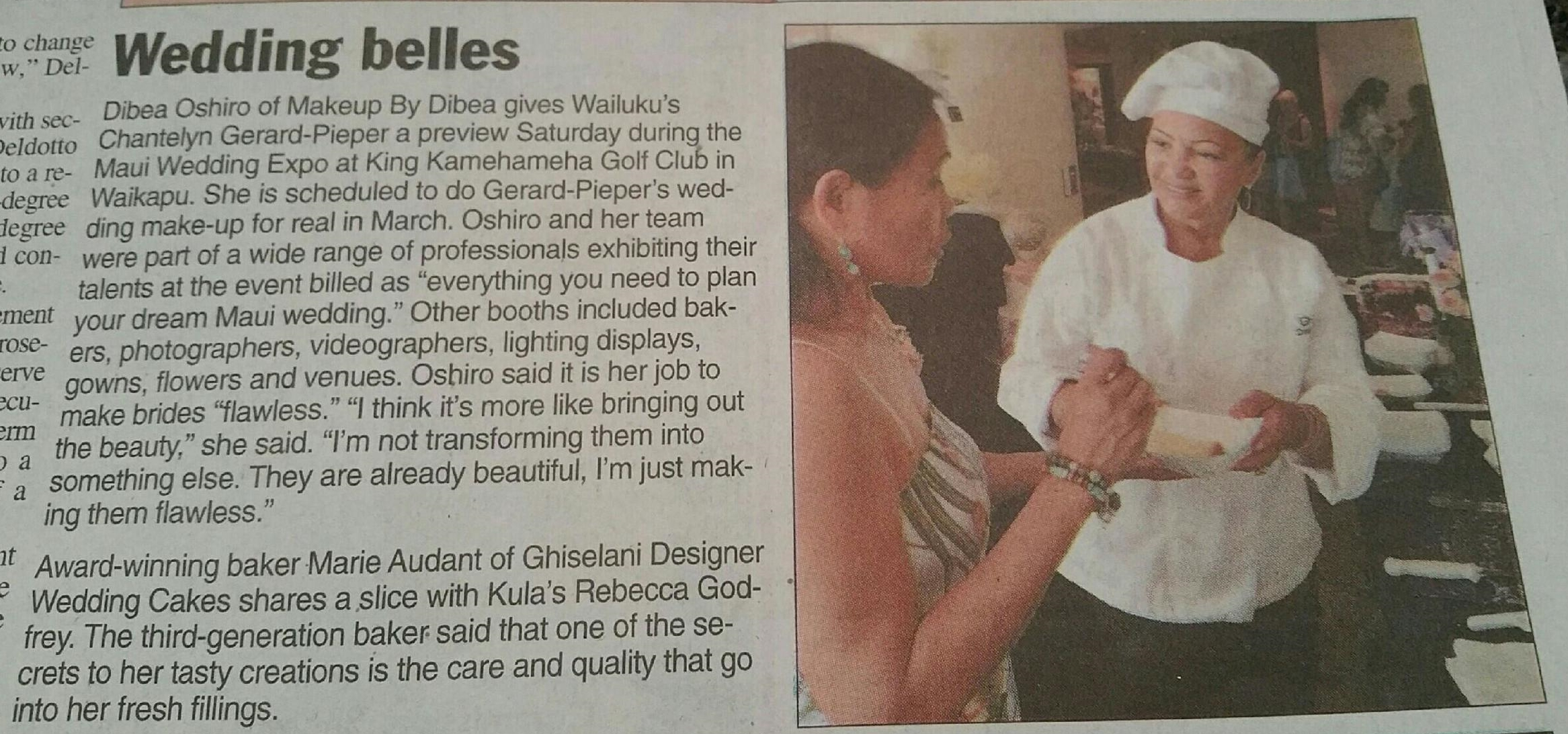 As seen in Maui News, Sunday August 30, 2014