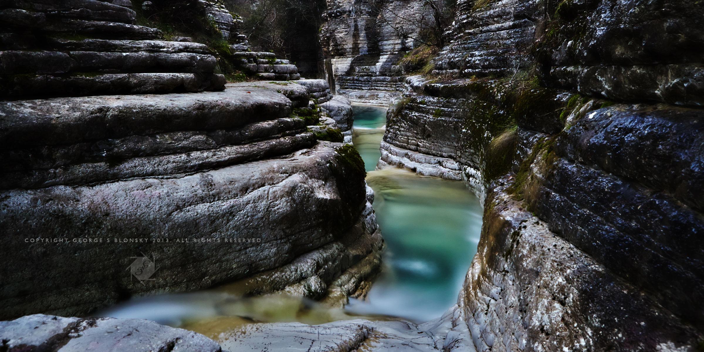 Kolimbithres Canyon