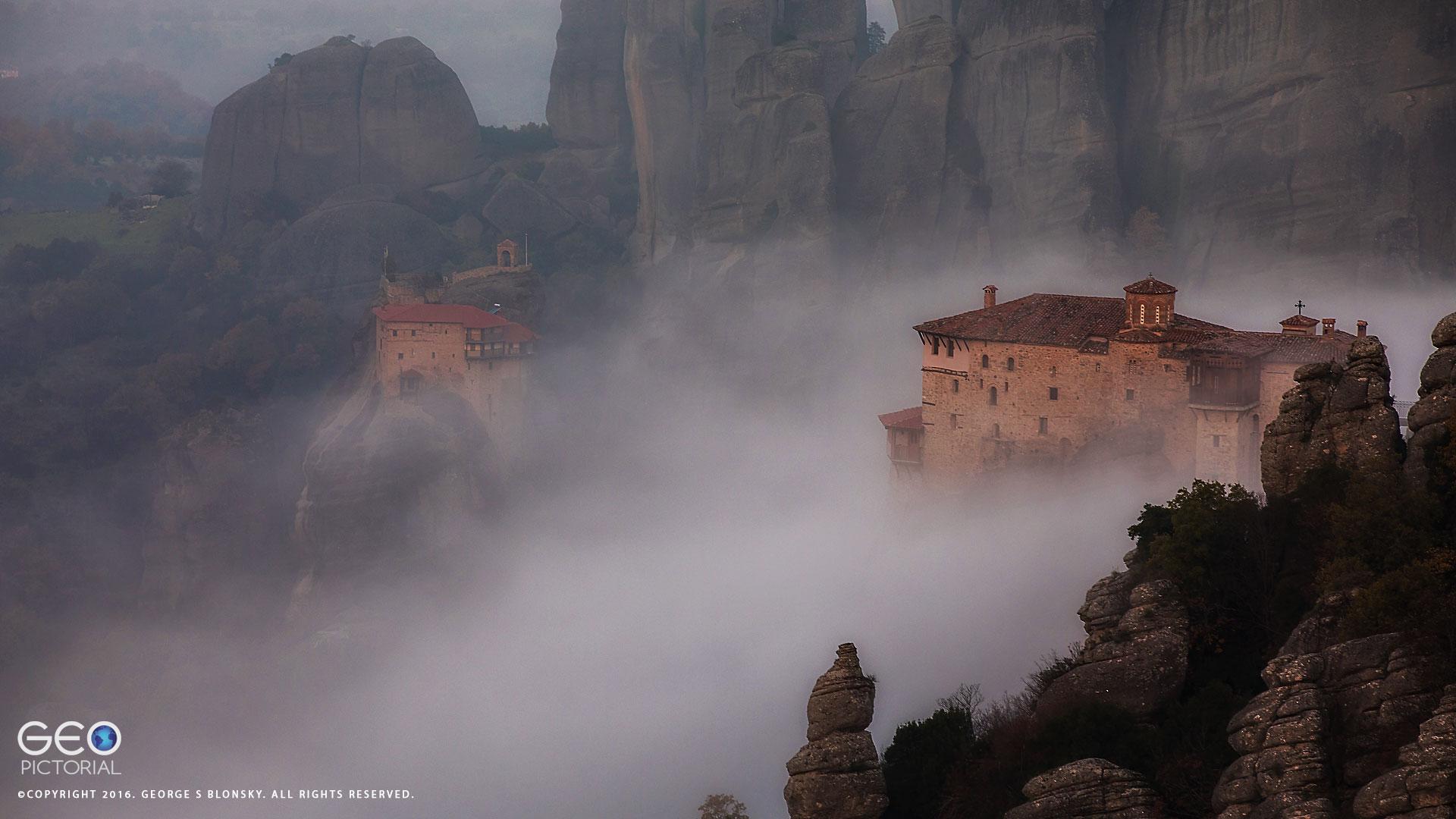 Roussanou Monastery at Meteora