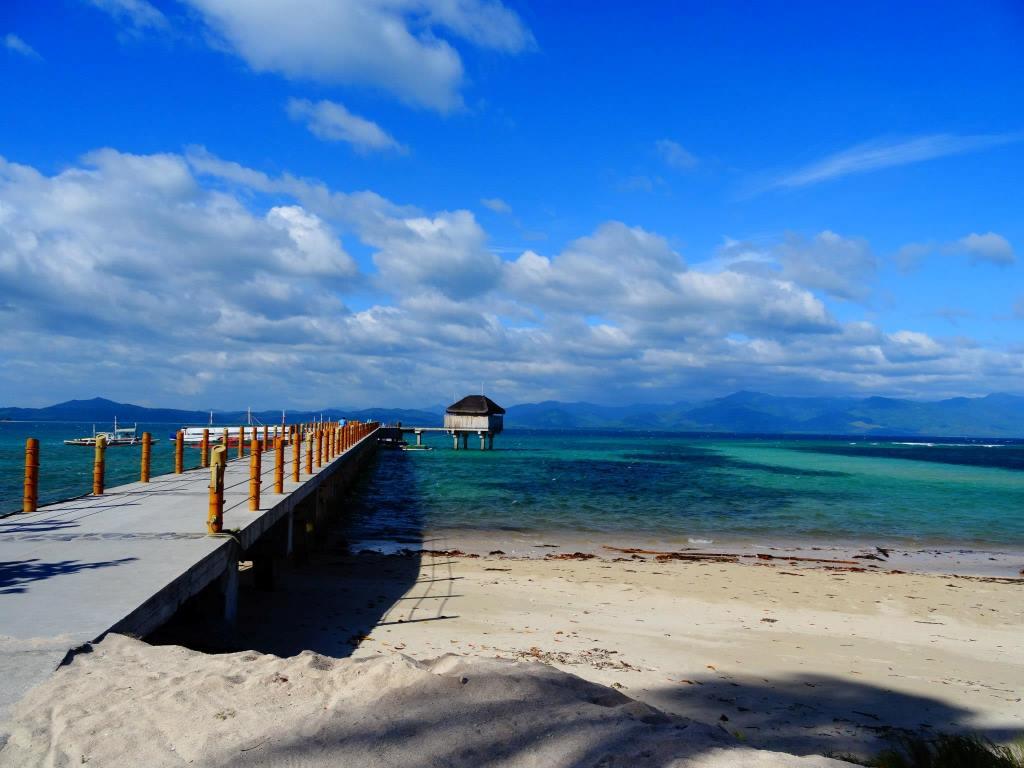 プエルトプリンセサ島のホンダベイに浮かぶ島。セブ島などで英語を勉強している日本人学生さんも来ていました。
