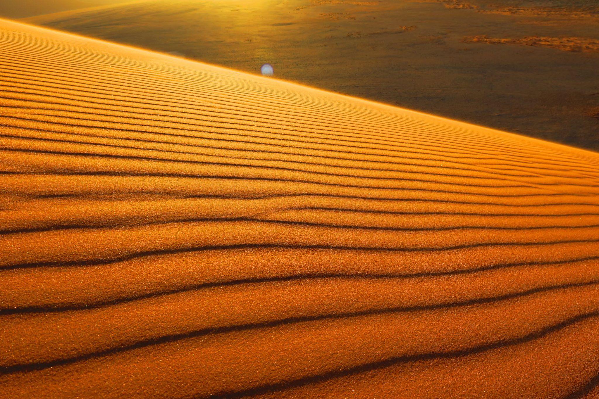 Dune 45の夕日