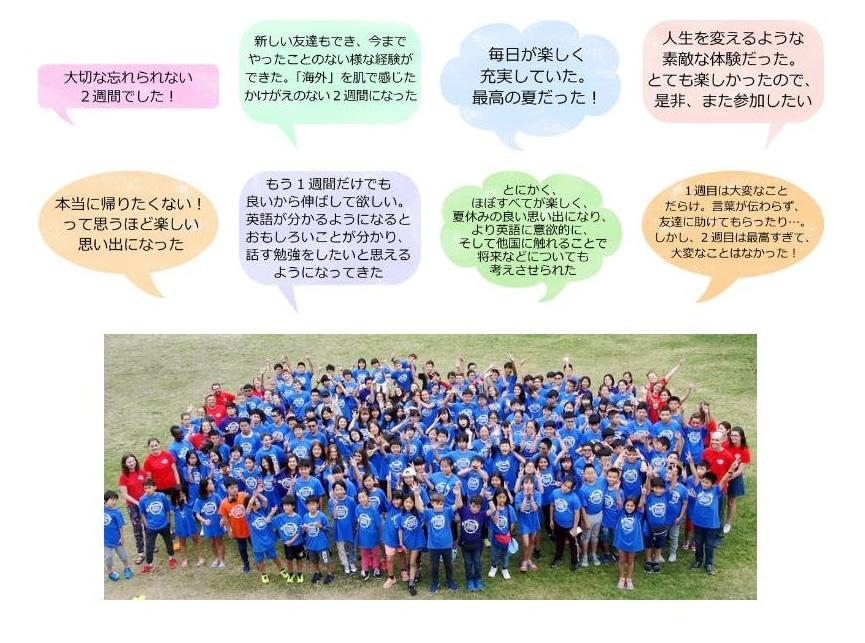 参加者の感想・アドバイスのページ