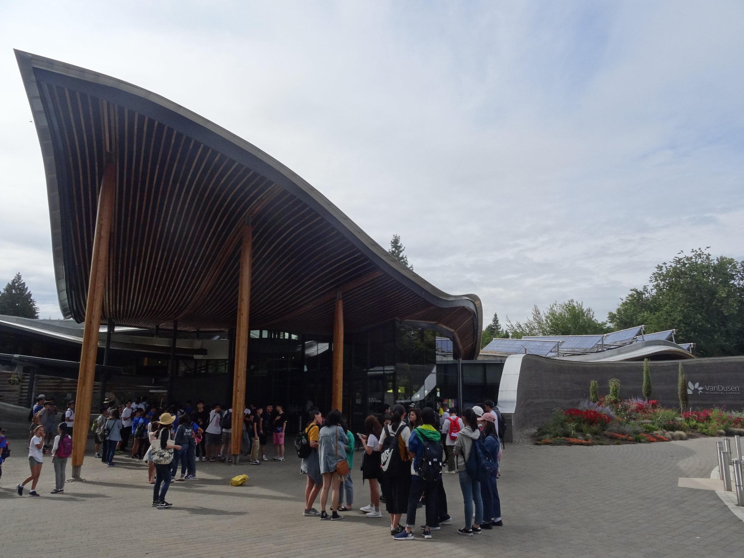 Van Dusen公園:滞在中は英語授業だけでなく、アクティビティや観光もあります