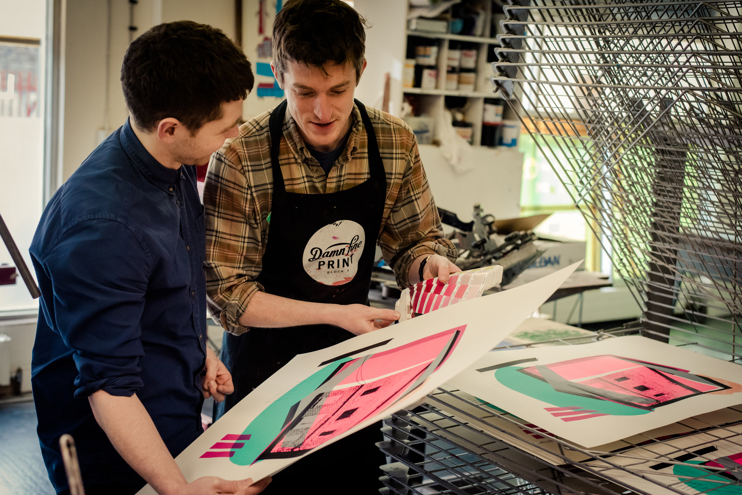 LEARN TO PRINT - COURSES & WORKSHOPS