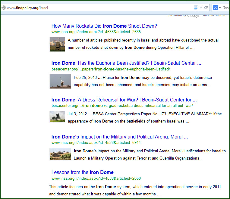 """Search results for """"iron dome"""""""