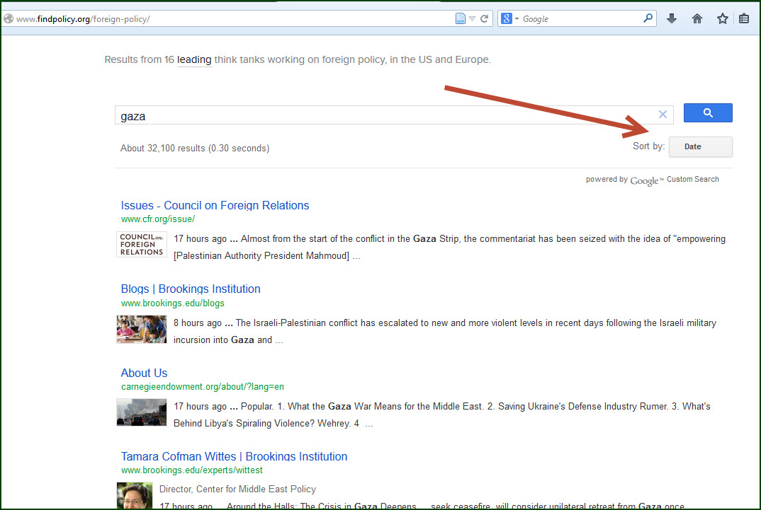 """Search results for """"Gaza"""""""
