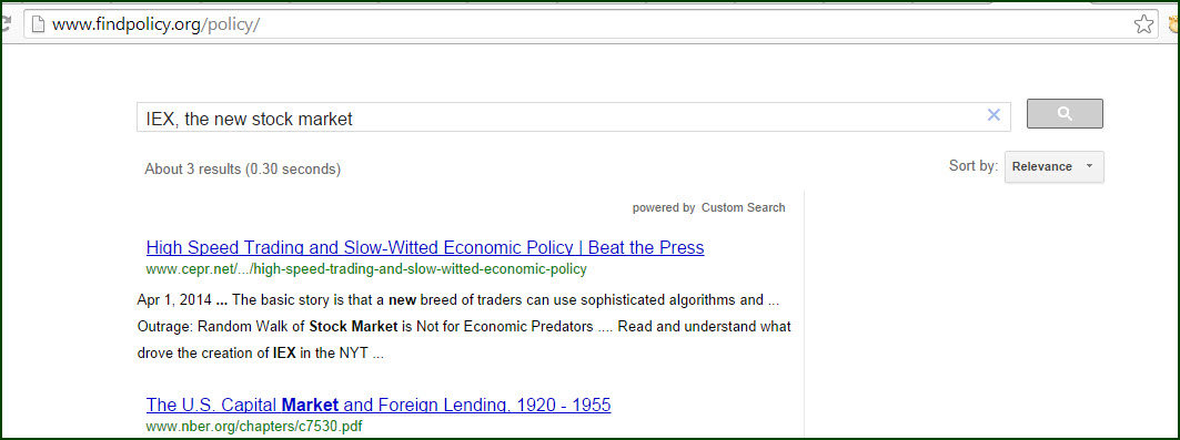 Search results for IEX