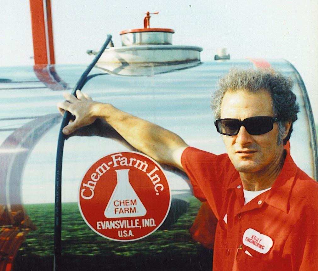 Walt Kelley circa 1985.