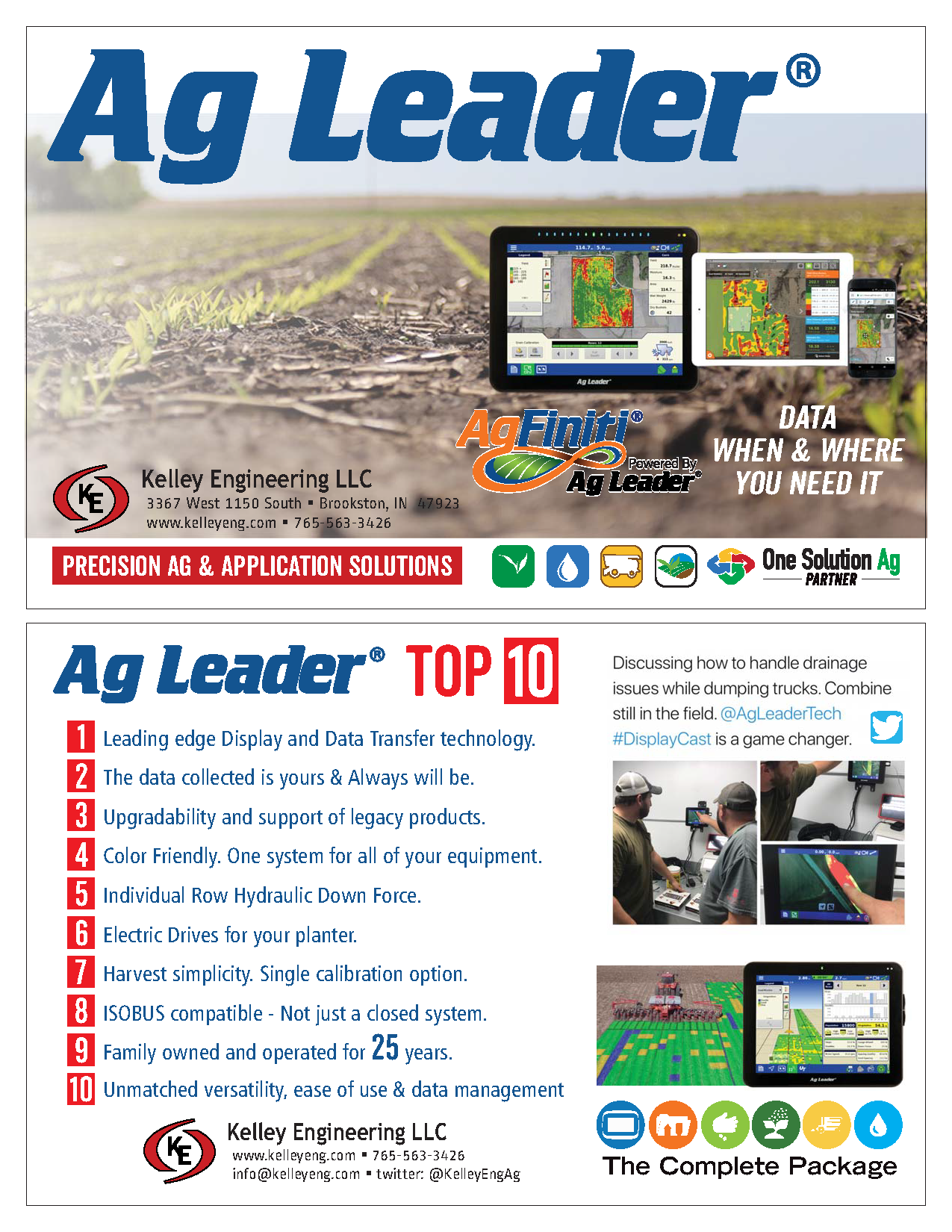Ag Leader - Top 10
