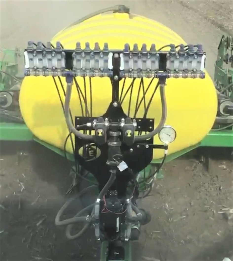 Electric pump system with visibility panels