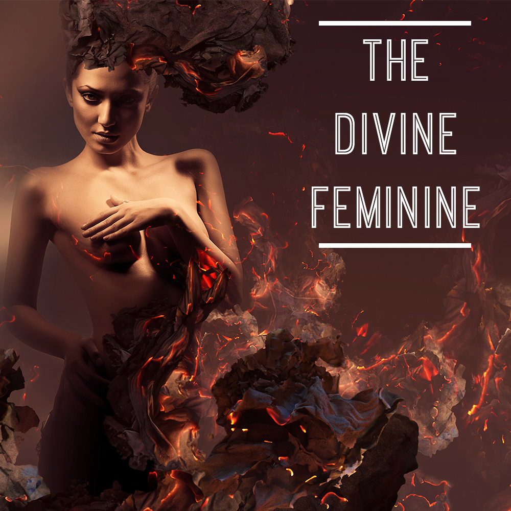The Divine Feminine Bookshelf