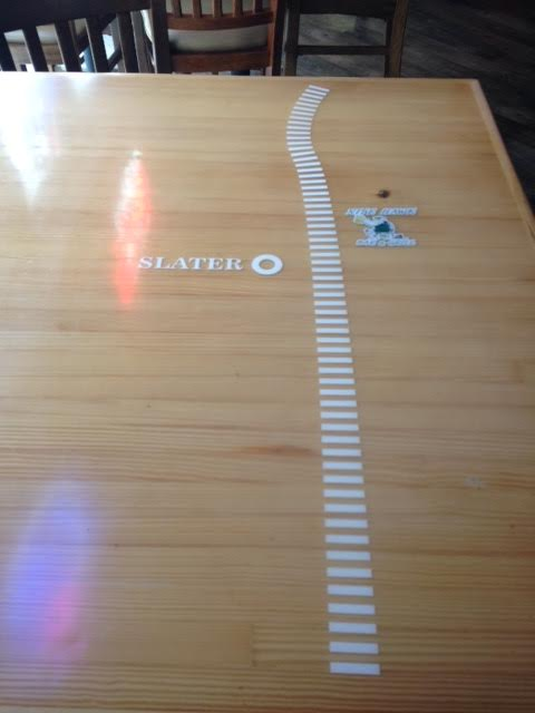 High Trestle Table Top