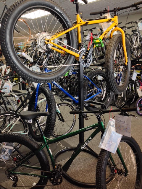 Fat Bikes Waiting for a Good Home