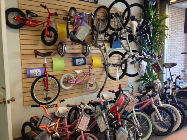 Check out that Rad Trike on the Wall!