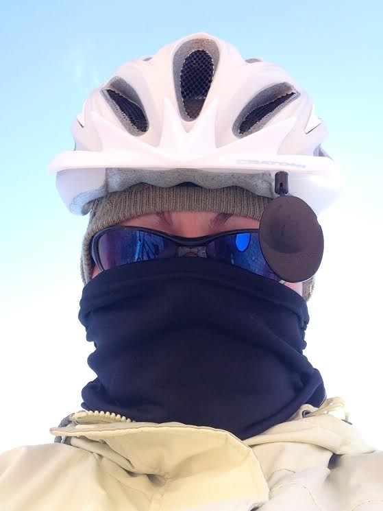 Winter Gear Selfie