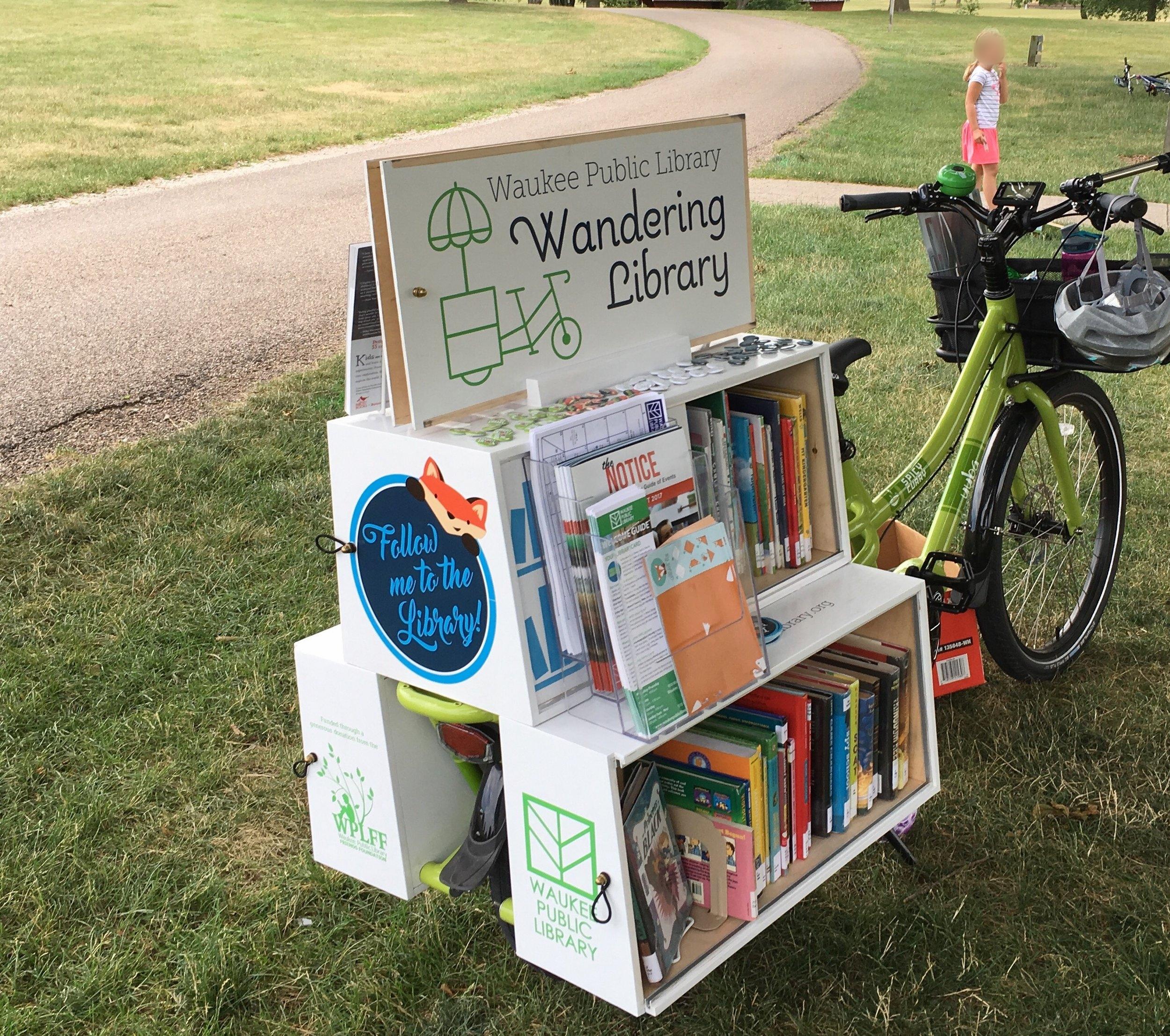 Iowa-Bike-Rides-Wandering-Library
