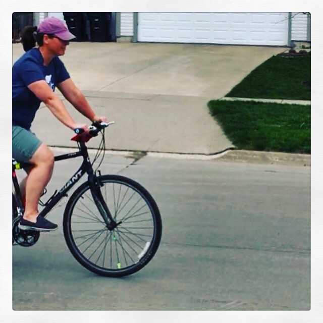 Day 22: Some random person riding their bike.