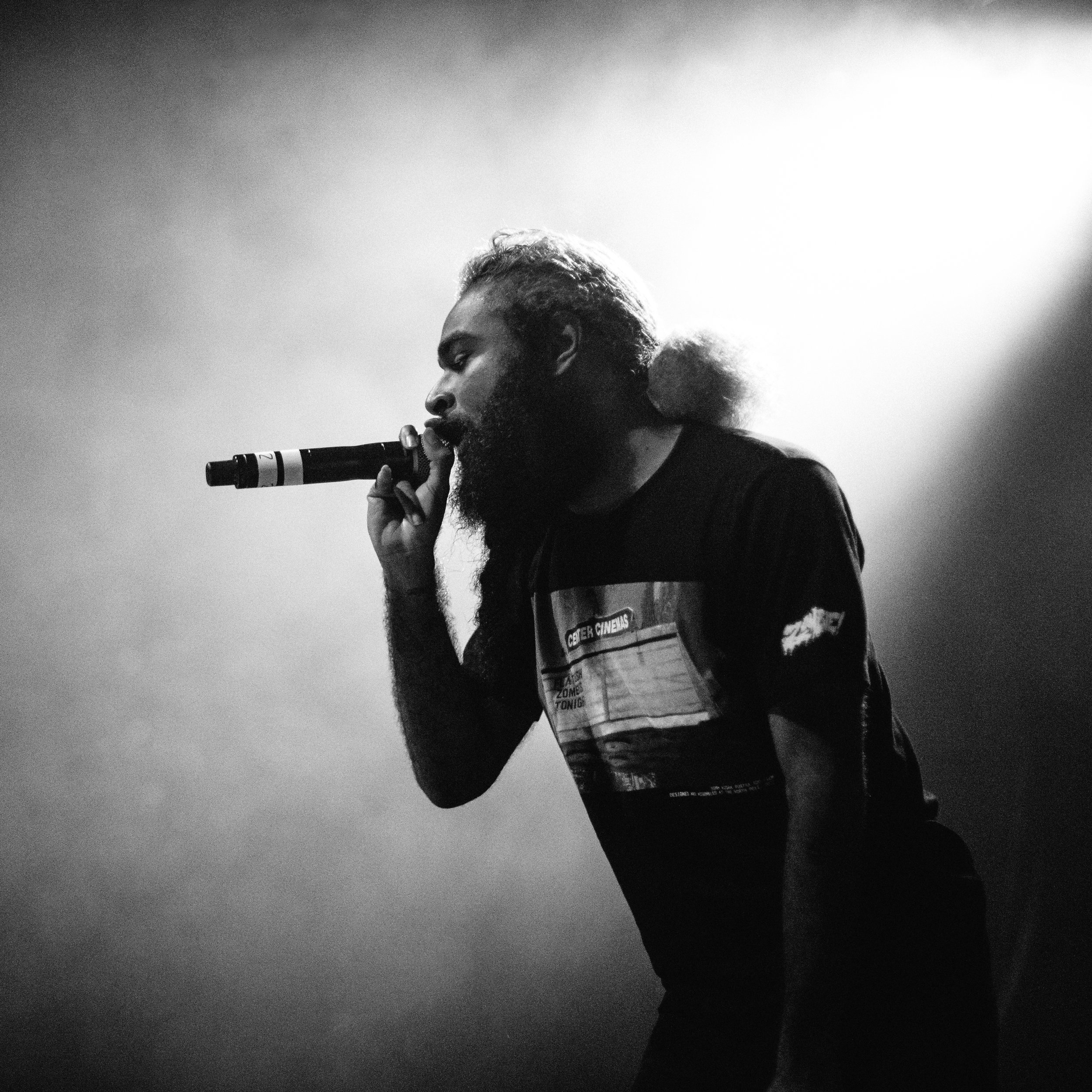 The  Flatbush Zombies  with  A$AP Twelvyy  at the  Muffathalle  in  Munich, Germany