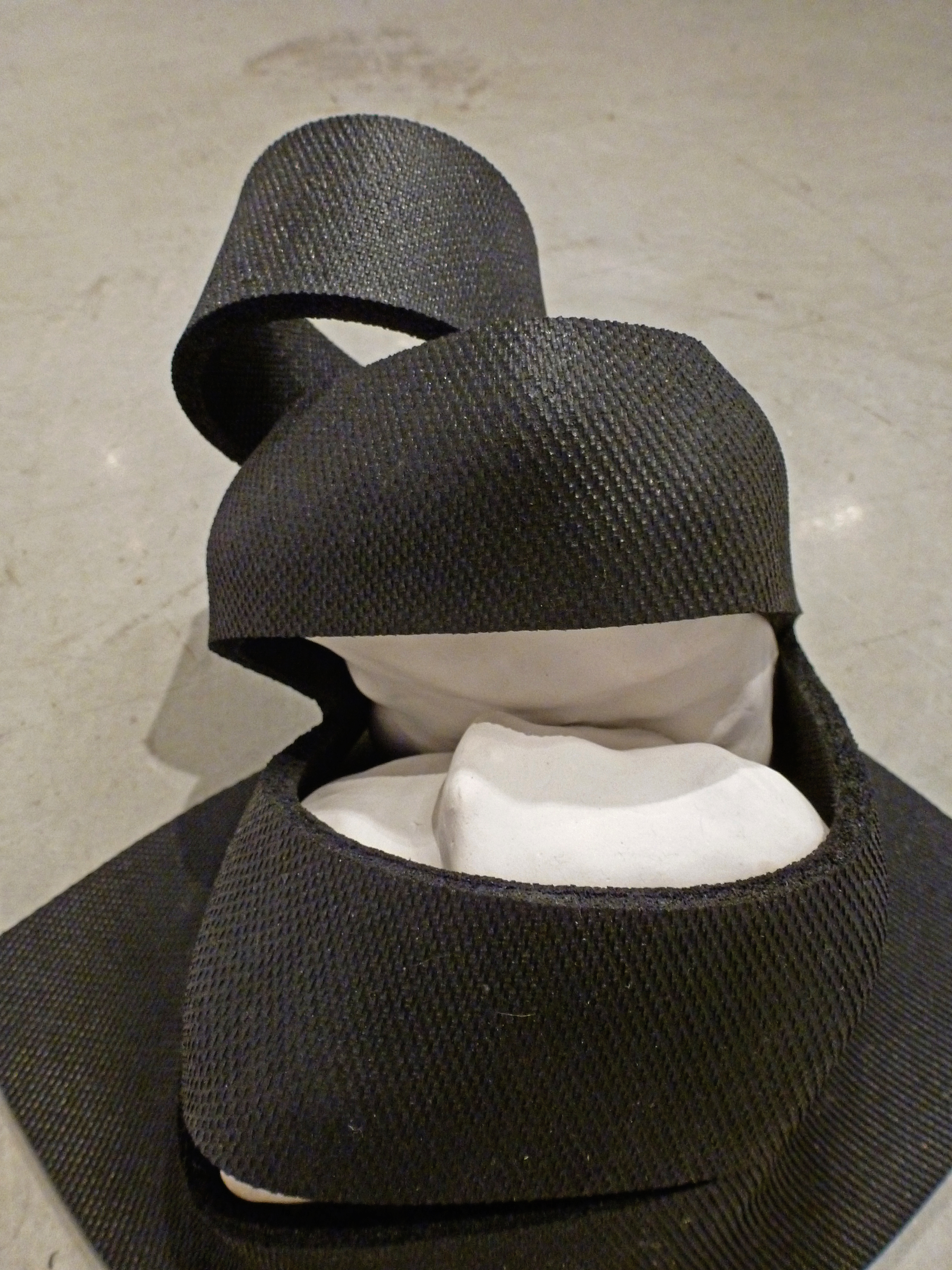 Untitled  (Rubber Slit)  detail, 2013
