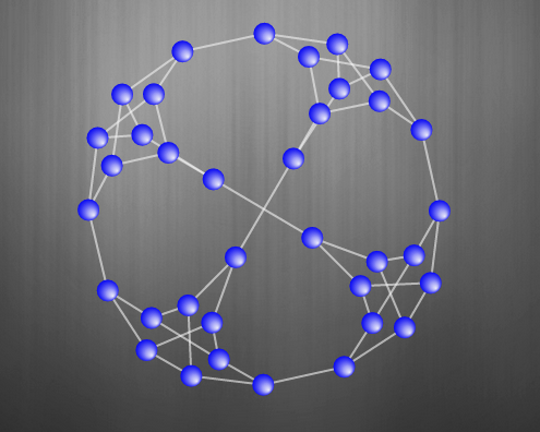 Snark graph with 36 vertices