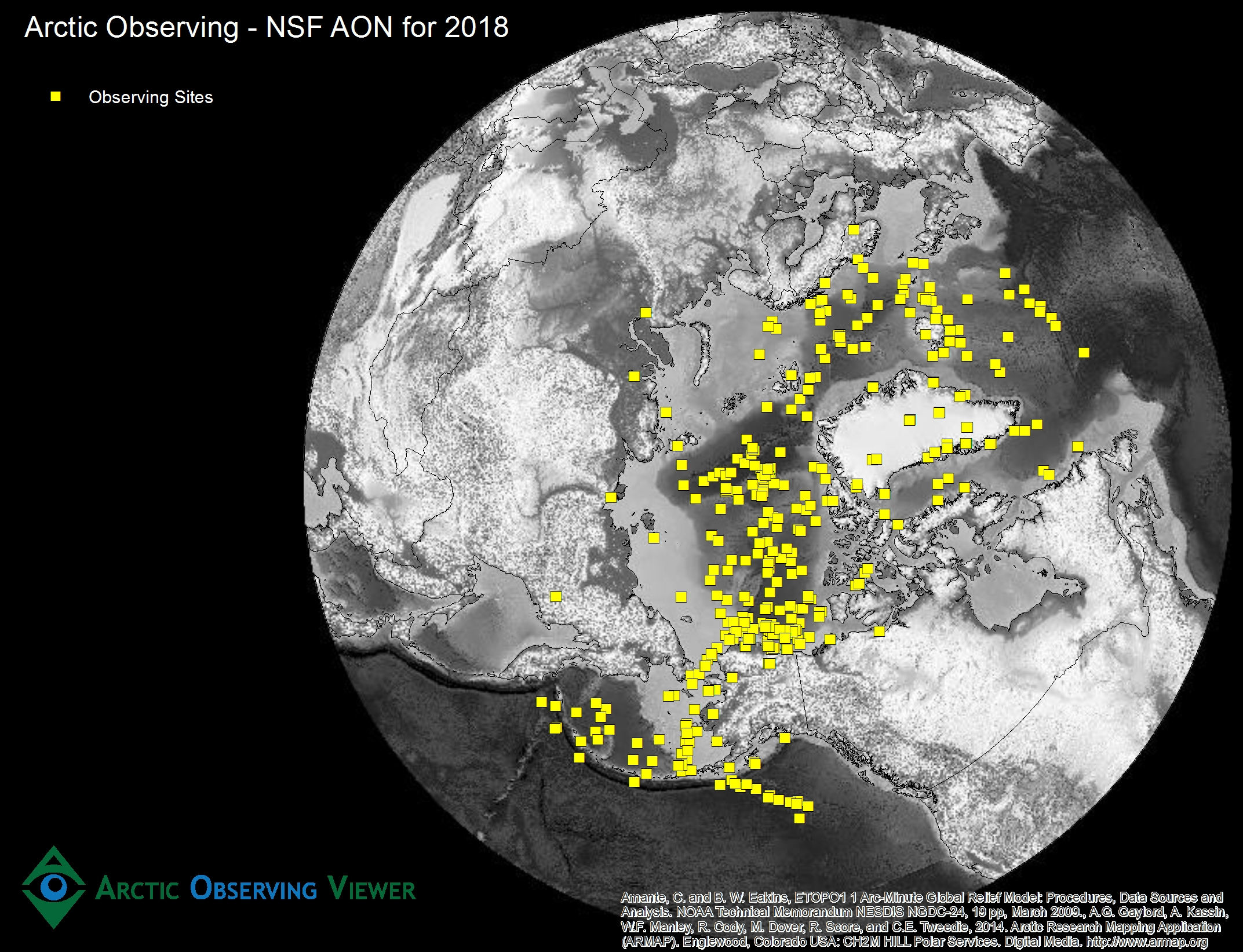 Arctic Observing - NSF AON for 2018