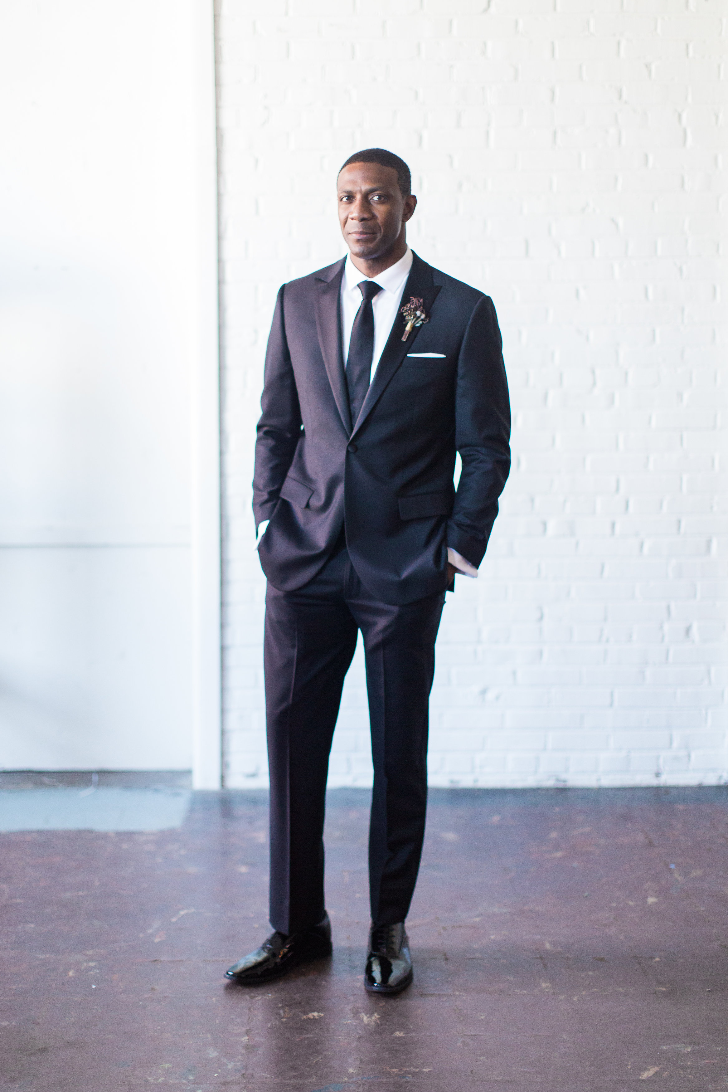 Fit - Fit is paramount. Making a better fitting rental was the reason we stared Lapel.Our suits and tuxedos are designed slim through the body with a higher armhole. A perfect blend of classic and contemporary.