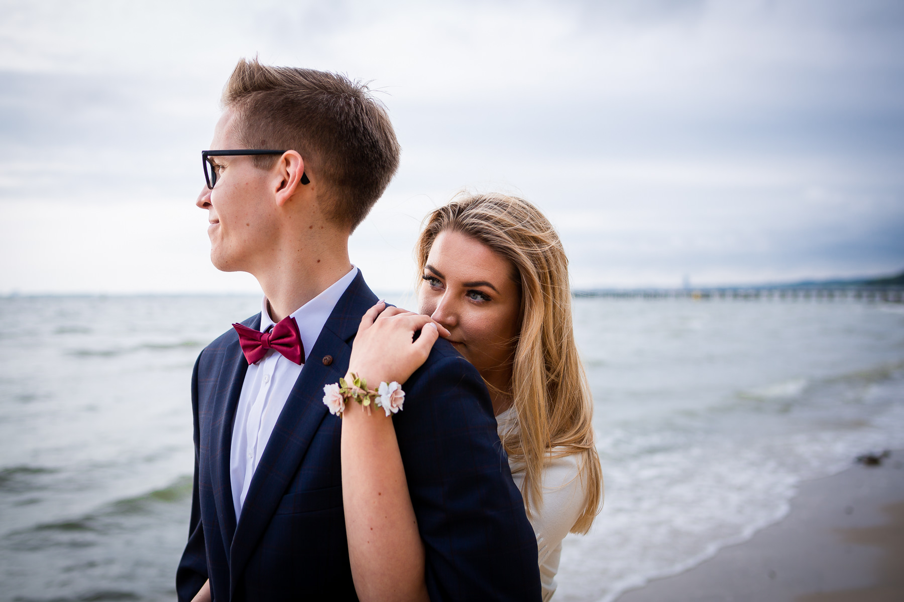 fotografia gdan�sk - s�lub - para młoda - wesele plaża - fotografia s�lubna - plener s�lubny gdynia orłowo.jpg