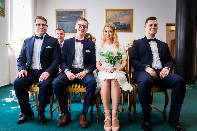 Fotografia S�lubna Gdan�sk Sopot - S�lub w Urzędzie Stanu Cywilnego w Gdyni i obiad weselny w Mondo di Vinegre - 03.jpg