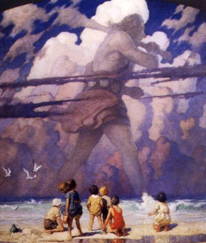 N.C. Wyeth's The Giant