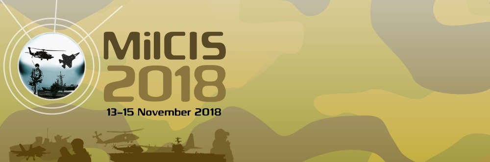During 13-15 November 2018, over 2,600 participants attended MilCIS 2018 at the National Convention Centre, Canberra. The conference showcased over 110 exhibitors and 85 plenary and paper presentations. The presentations and photos from the conference are  now available .