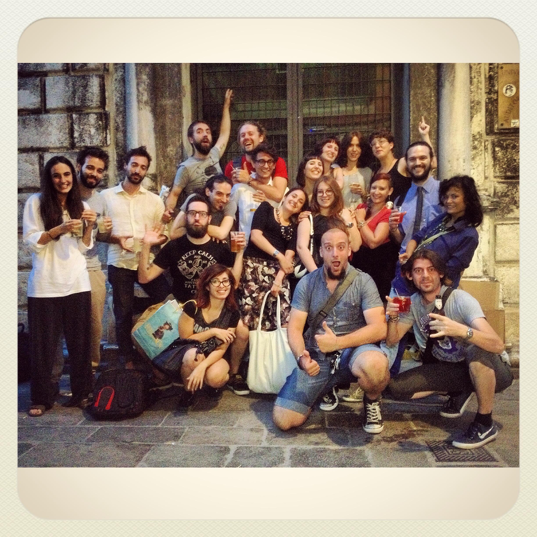 Uber cool friends in Venice : assemble!