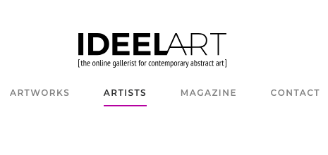 - Currently, my work can be found on two online platforms: IDEELART the online gallerist for contemporary abstract art . . .