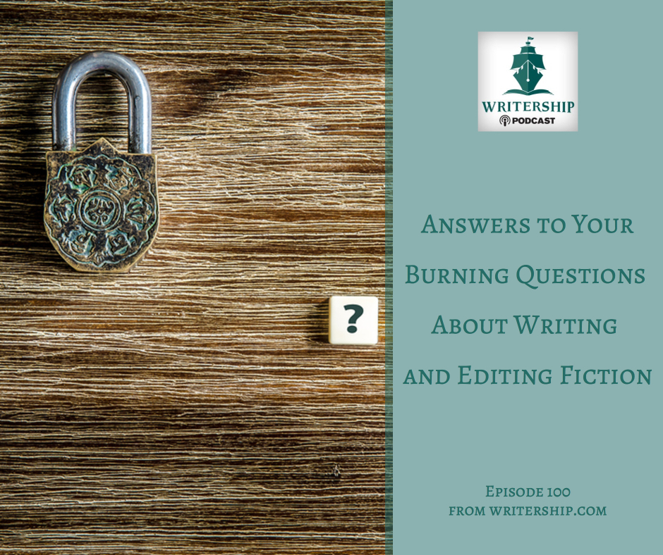 Answers to Your Burning Questions about Writing and Editing Fiction with Fiction Editors Leslie Watts and Clark Chamberlain