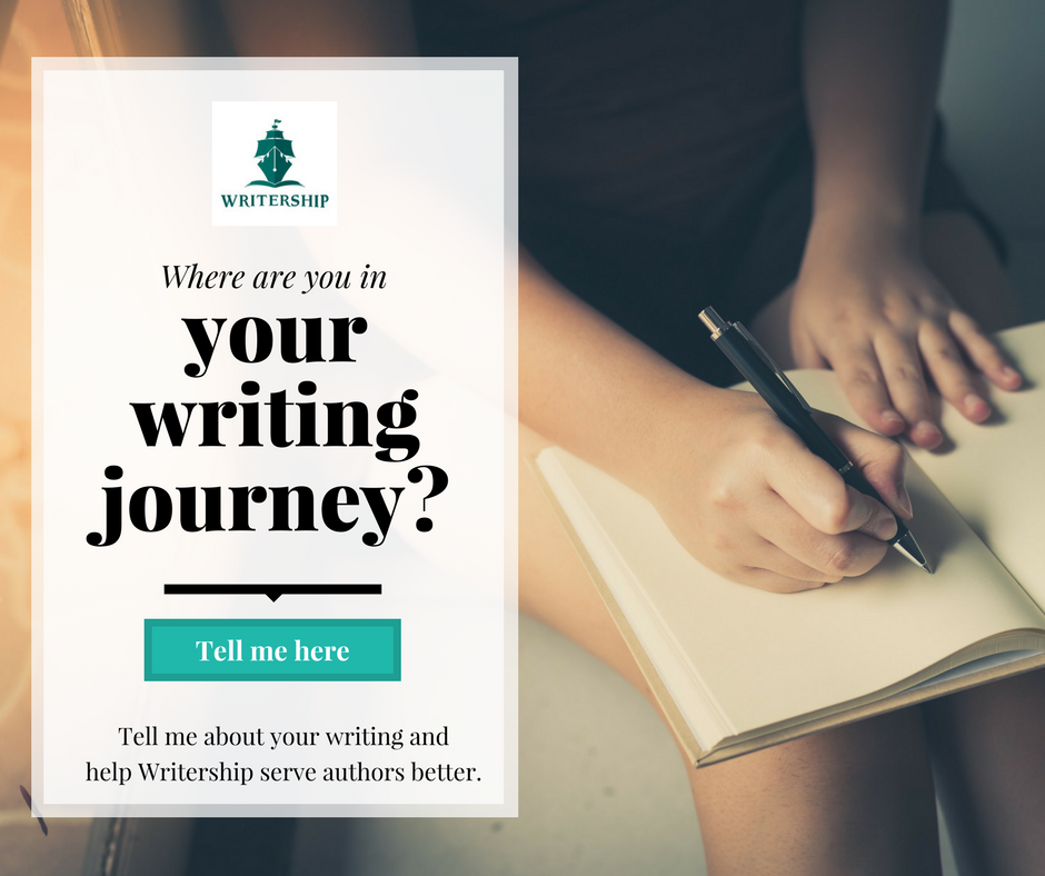 Where are you in your writing journey? Tell us at writership.com/tellme and help us serve authors better.