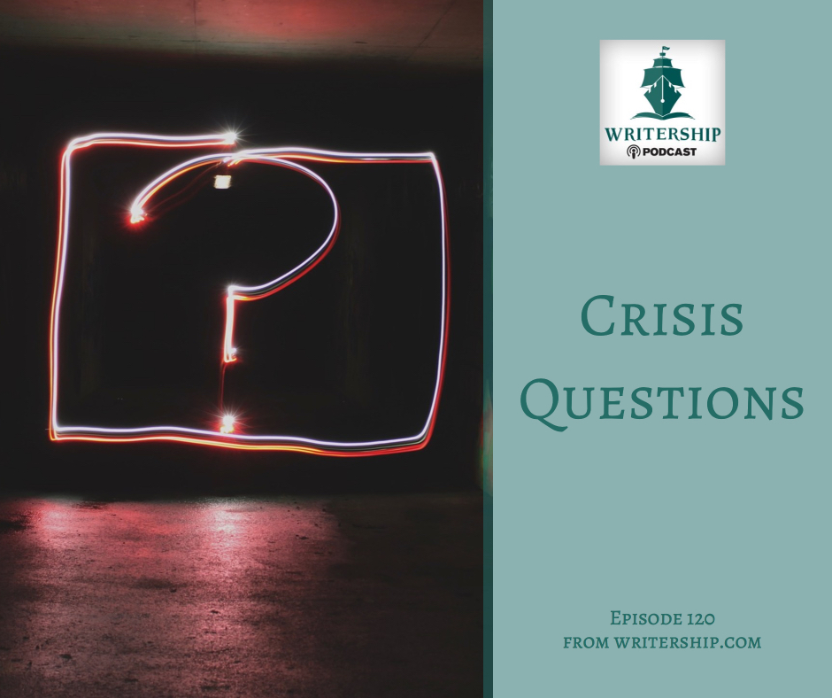 Crisis Questions by Leslie Watts at Writership.com.