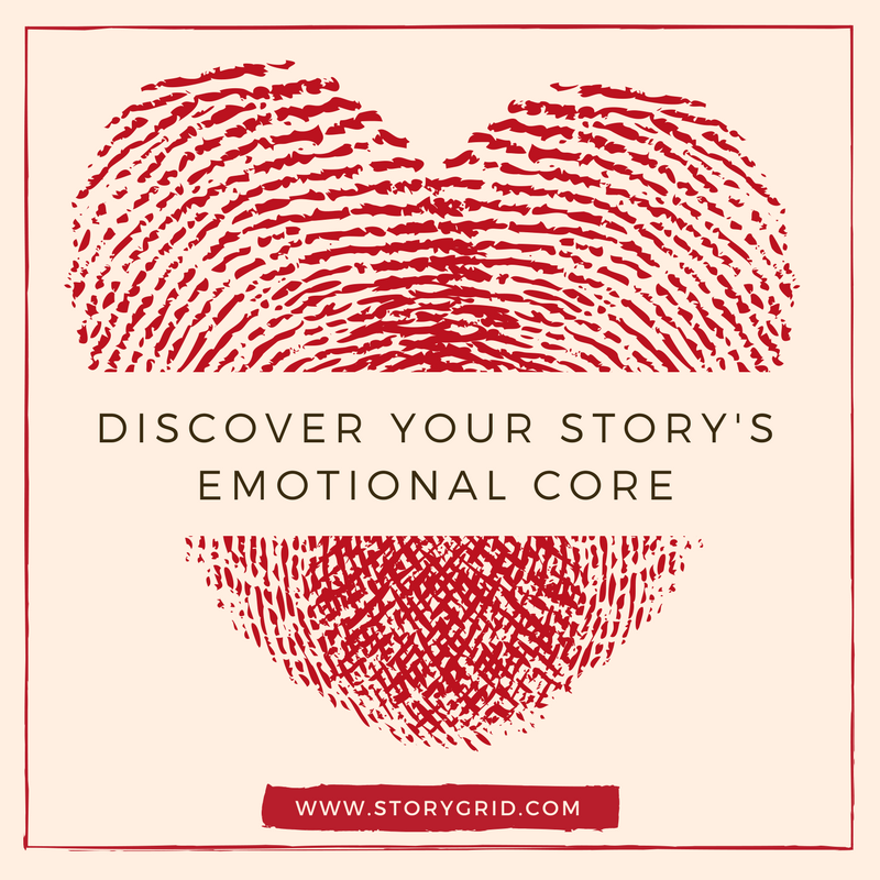 Discover Your Story's Emotional Core by Leslie Watts from writership.com, on storygrid.com.