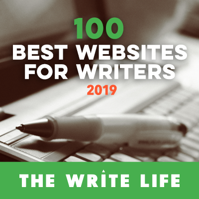 Writership.com included in The Write Life's 100 Best Websites for Writers in 2019
