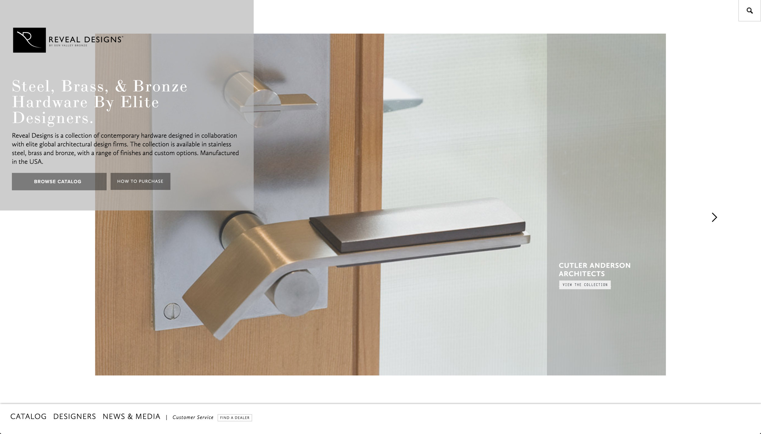 Reveal Designs | Architectural Hardware