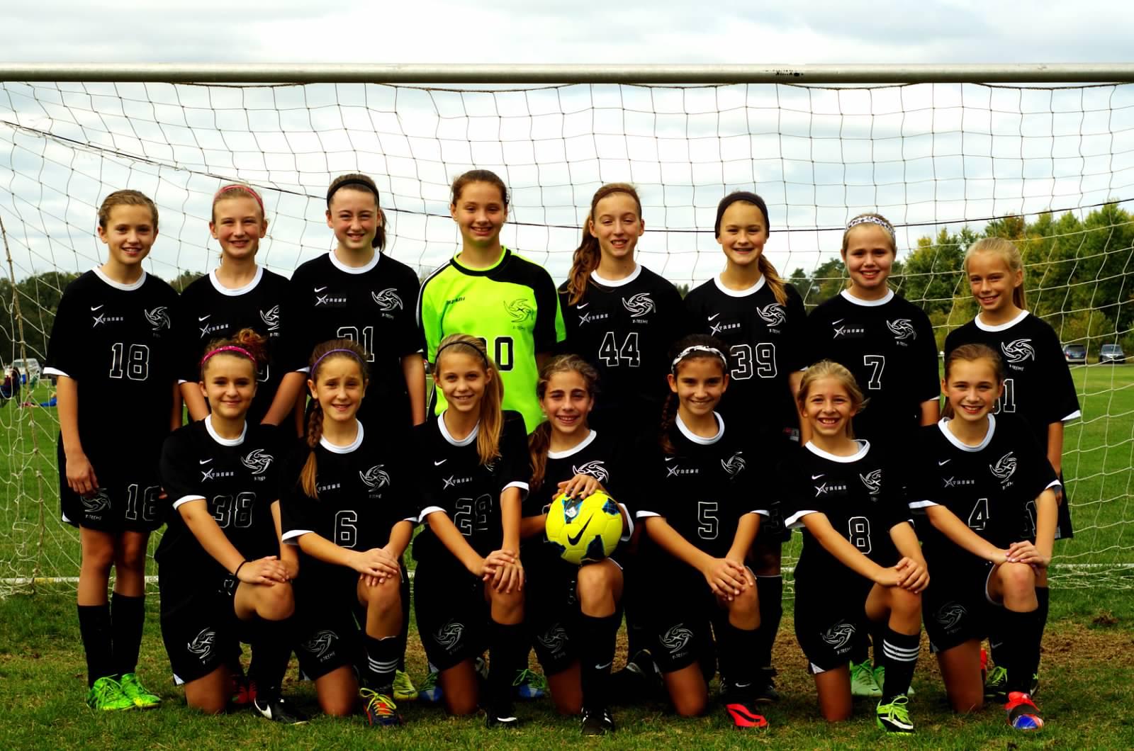 U12 Girls Premier Team