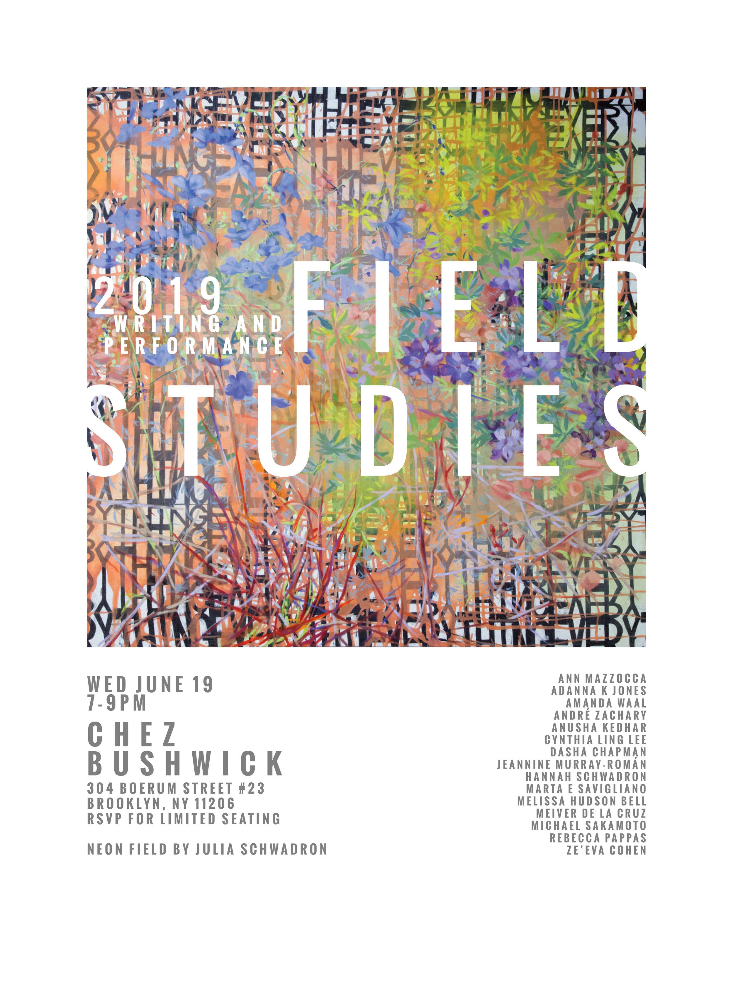 Field Studies 2019