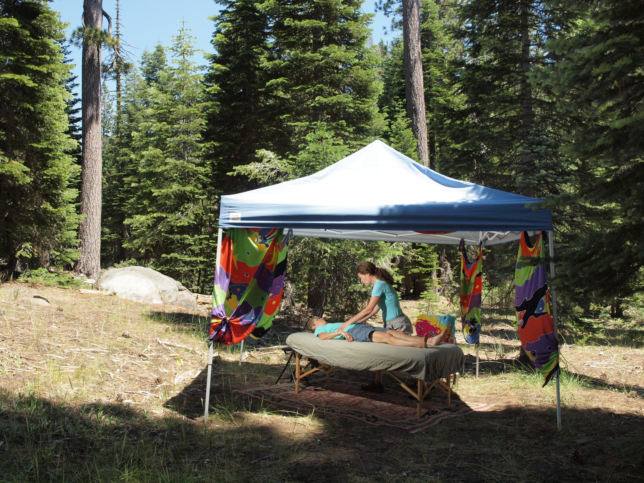 A mobile version of the studio at  French Meadows S ummer Camp