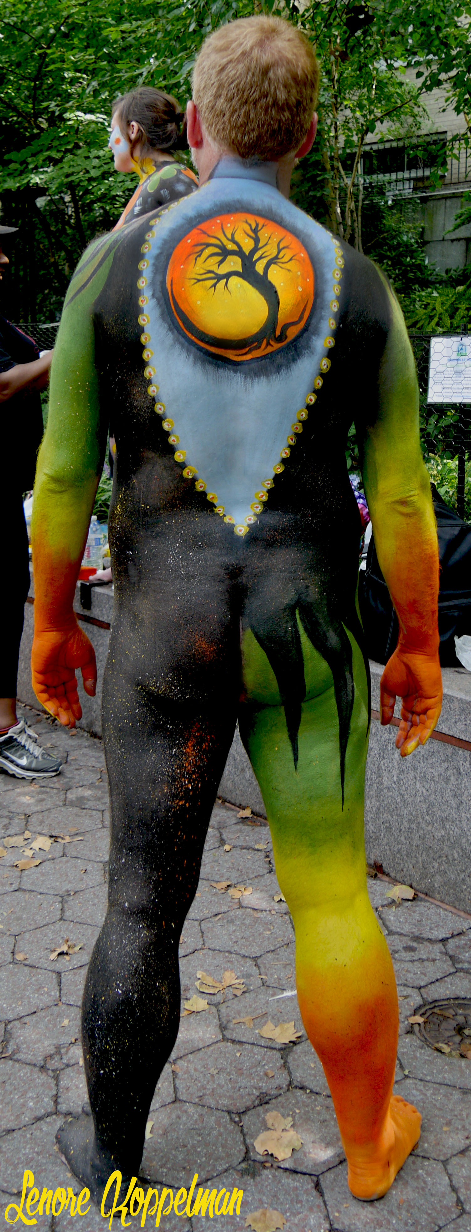 NYC body painting day model 1 back.jpg