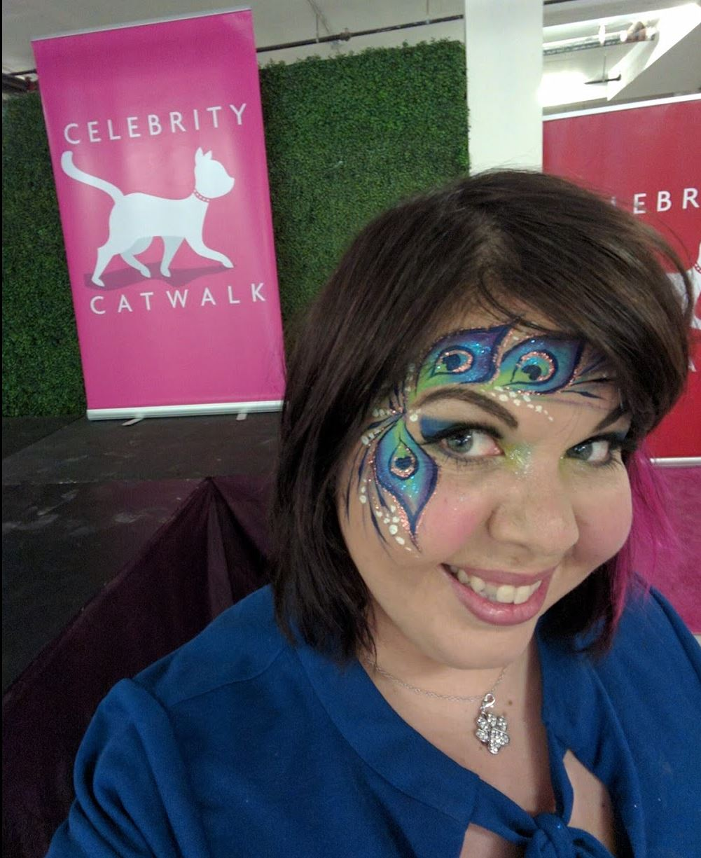 lenore volunteering at  celebrity catwalk  in nyc. to find out how you can donate to their cause,  click here for more info!