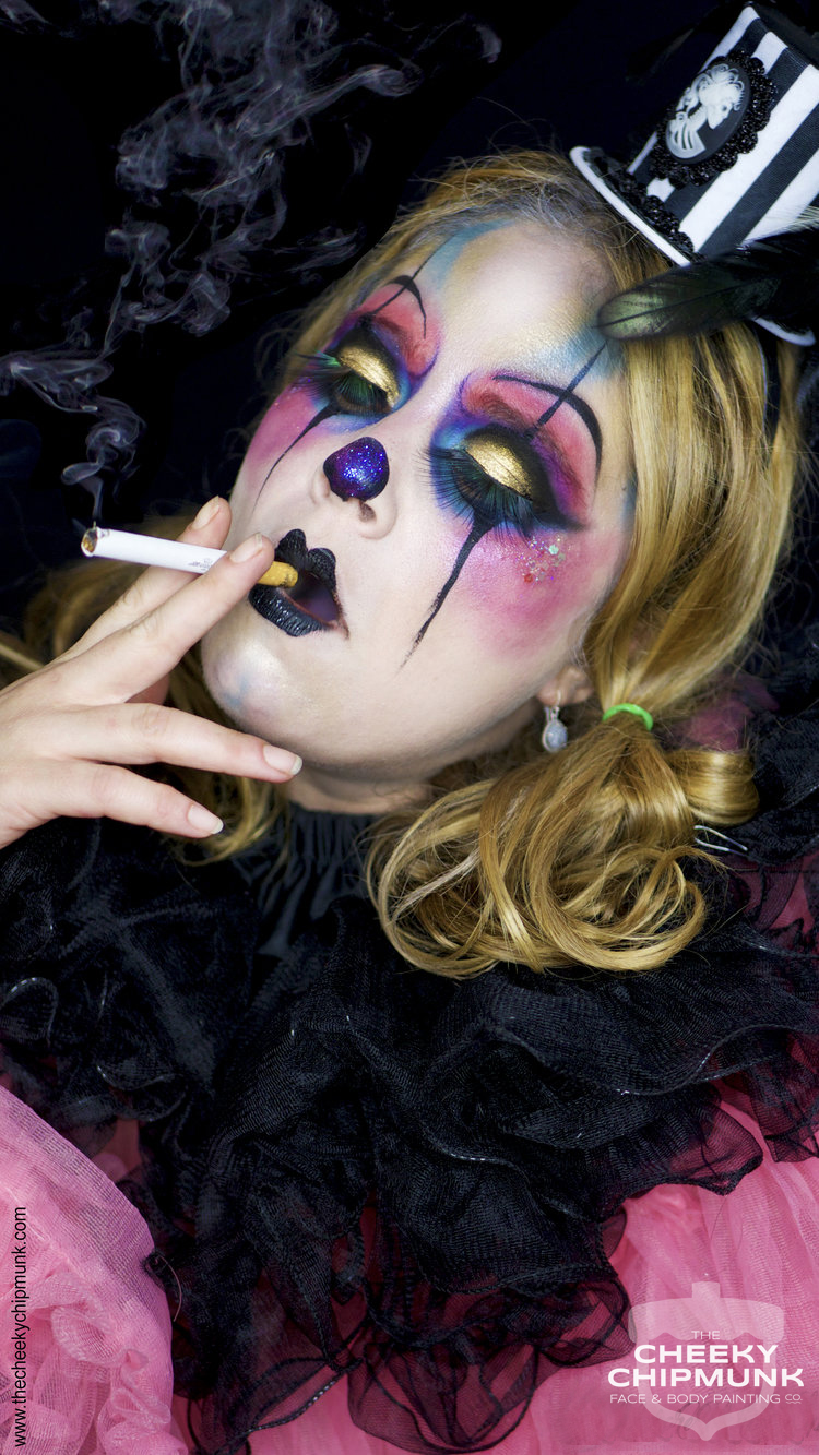 lenore-koppelman-the-cheeky-chipmunk-teegan-creepy-french-clown-cigarette-face-painting-fantasy-makeup-mime-sexy-nyc.jpg