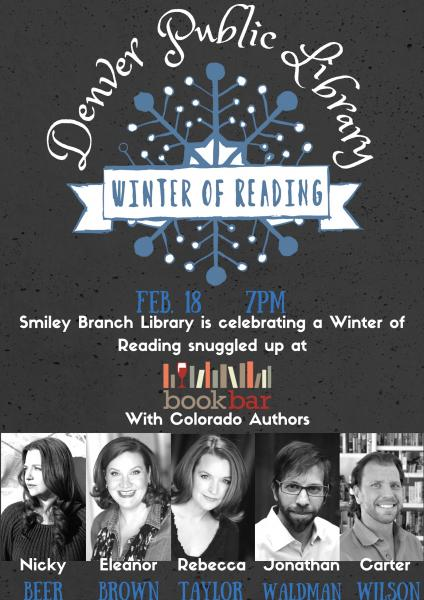 http://www.bookbardenver.com/event/winter-reading-celebration