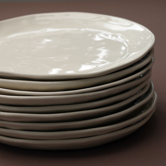 Organic shaped plates for Jack's Point Restaurant in Queenstown, NZ.
