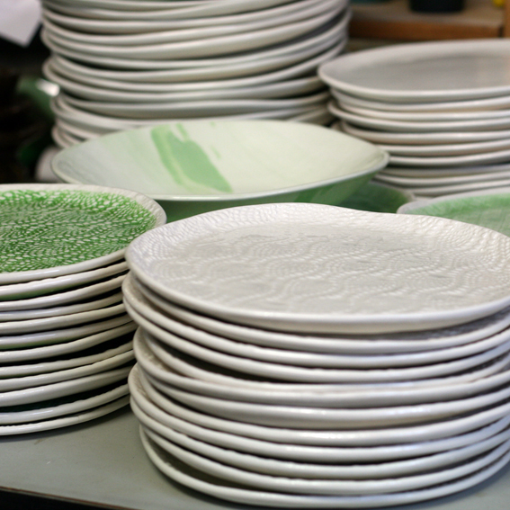 Plates for Nic Watt's True Food and Yoga, Auckland, NZ